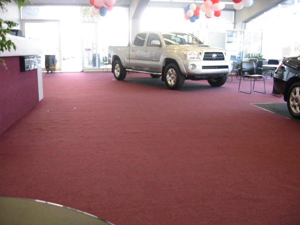 Carpet flooring installed in commercial space by Daniel Flooring