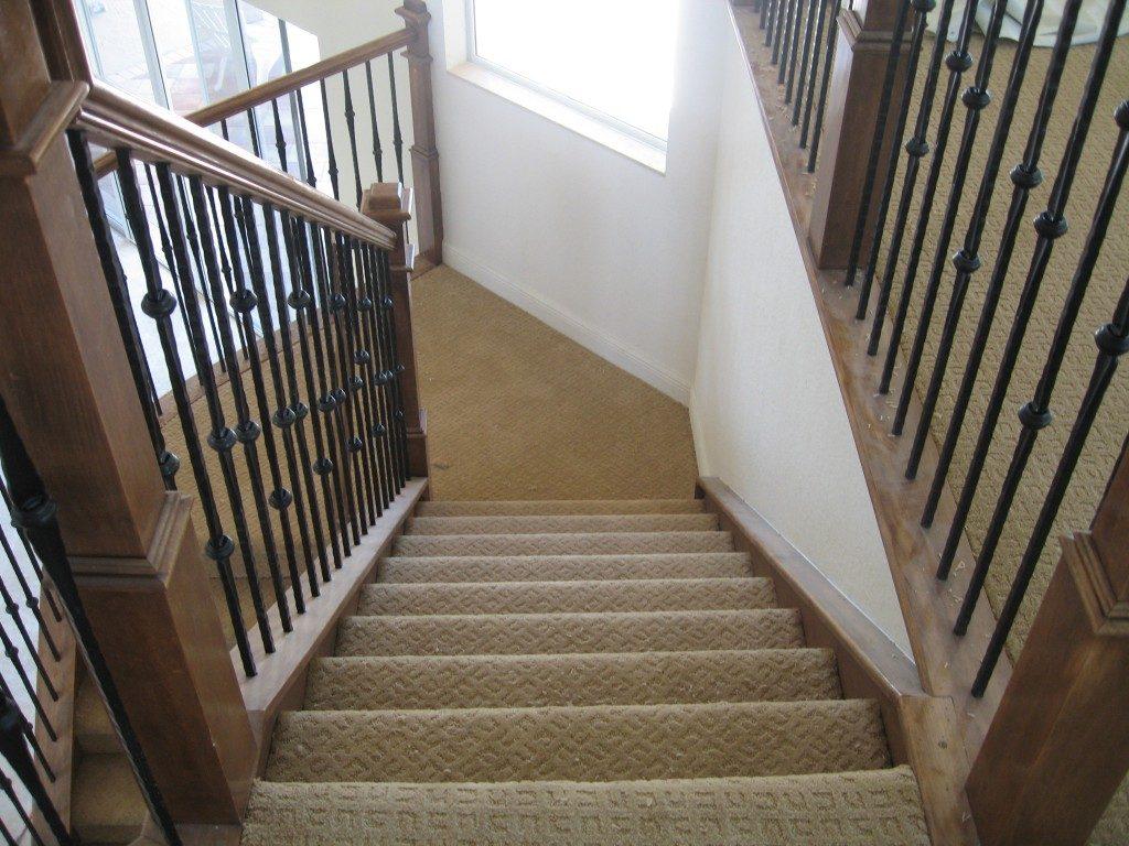 Stair carpet installation in Weston, FL from Daniel Flooring