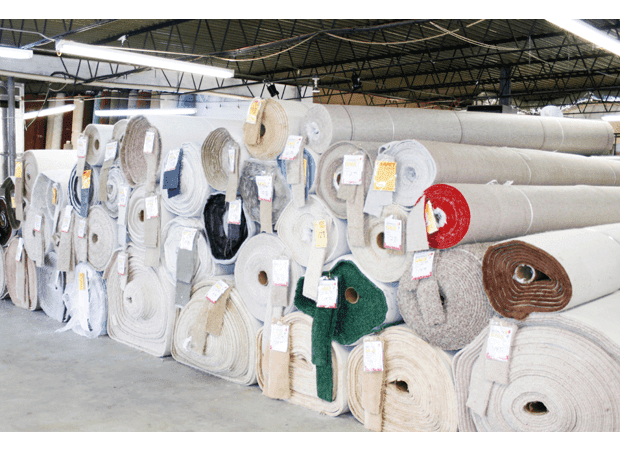 Carpet rolls for large projects from Carpet Depot in Stone Mountain, GA