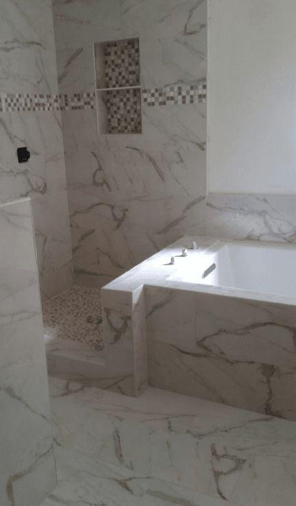 Beautiful custom bath and shower renovation in Santa Clarita, CA