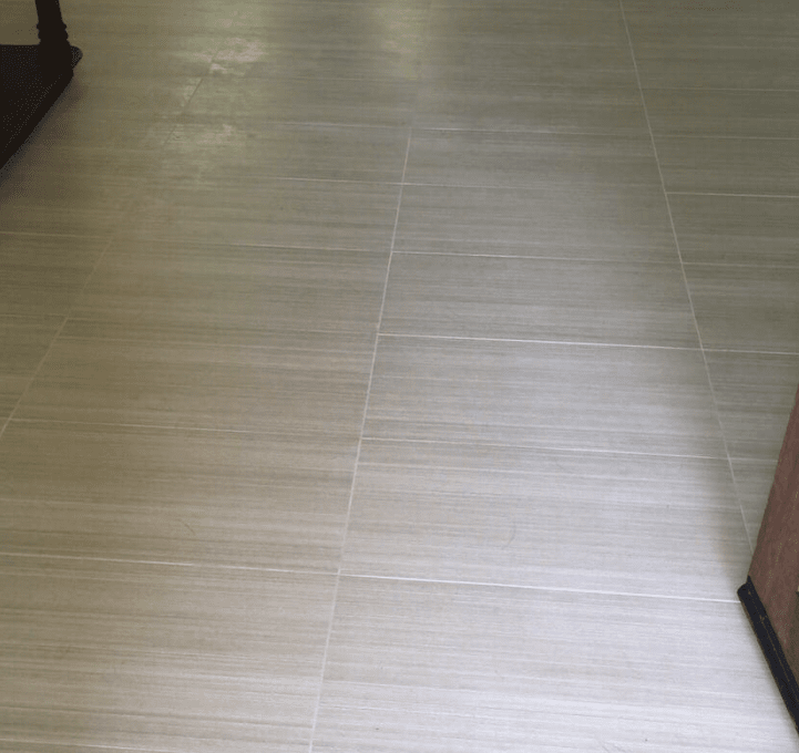 Textured tile professionally installed in Valencia, CA from Dave Walter Flooring Kitchens and Baths