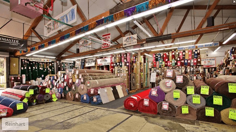 The Havertown Carpet showroom in Havertown, PA is overflowing with carpet options