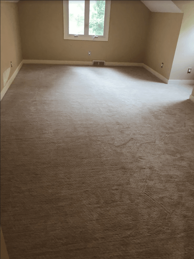 Carpet replacement in Fort Washington, PA home by Reinhart Carpet Outlet