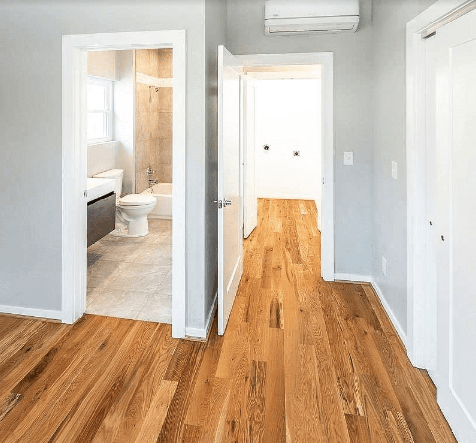 Flooring installation from Arbor Zen Hardwood Floors in Black Mountain, NC