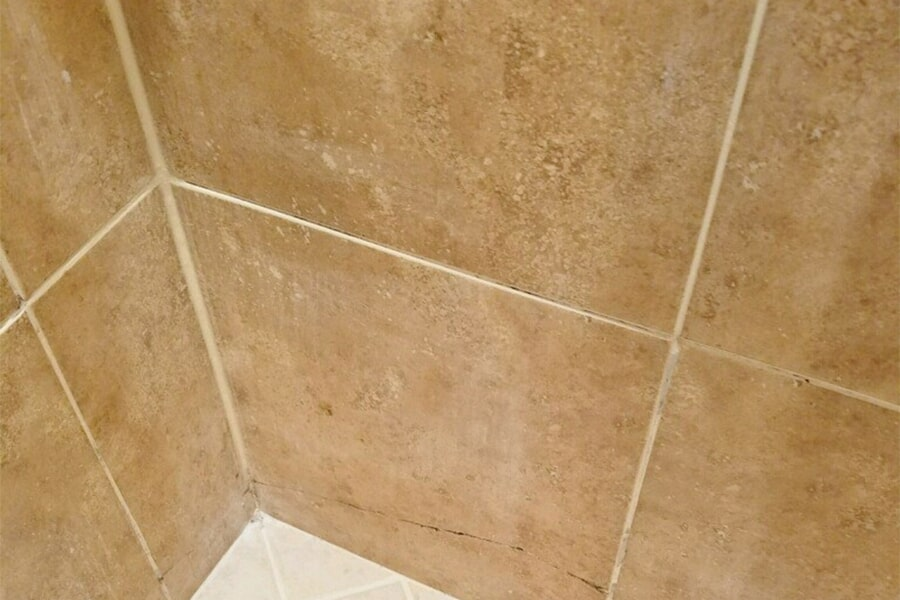 Beautiful textured shower tiles in Fort Pierce, FL from Carpets Etc