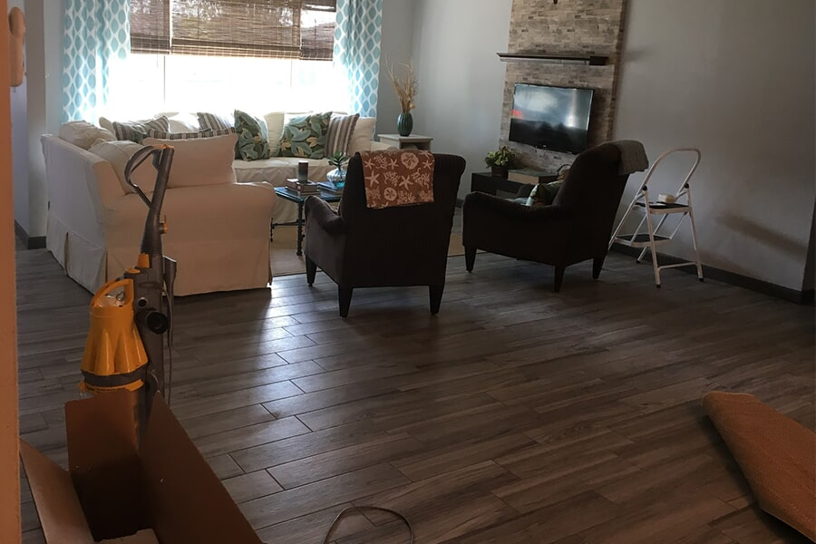 Luxury vinyl plank flooring in Jensen Beach, FL from Carpets Etc