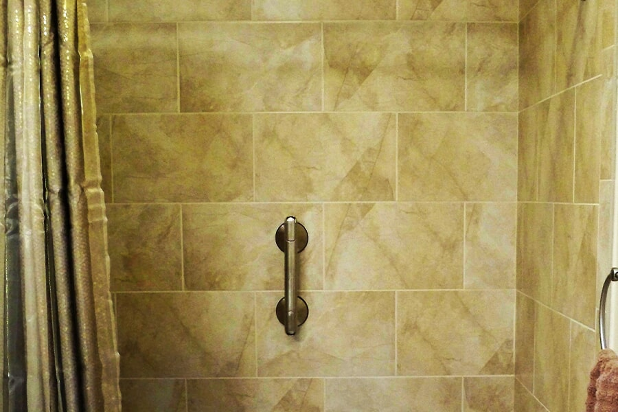 Accessible bathroom remodel in Fort Pierce, FL from Carpets Etc