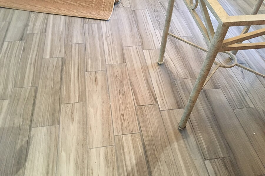Wood look tile in Stuart, FL from Carpets Etc