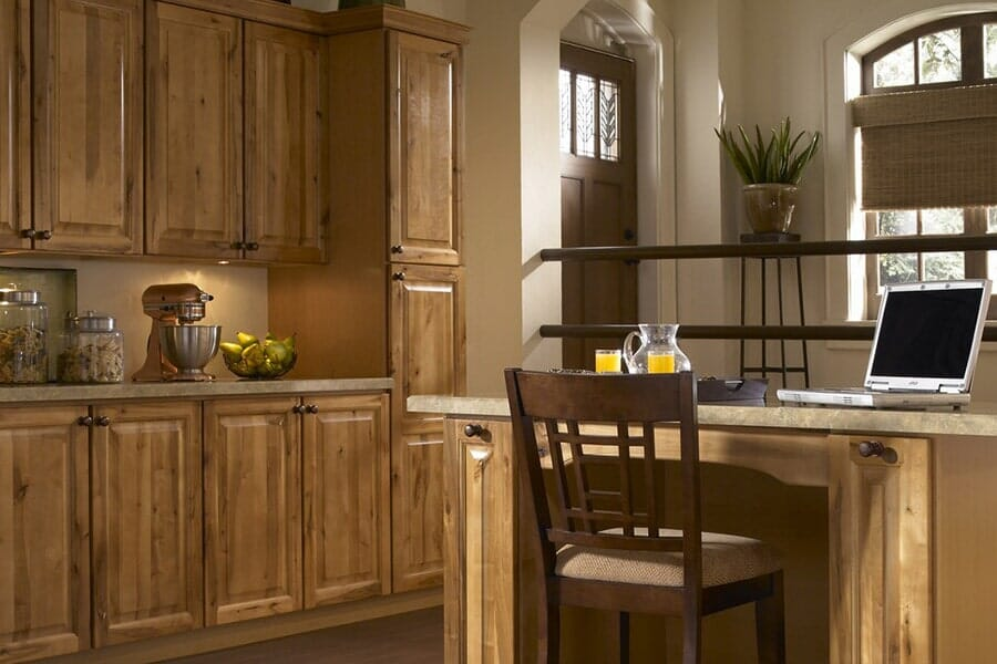 Rustic Wood Cabinetry in New Rochelle, NY