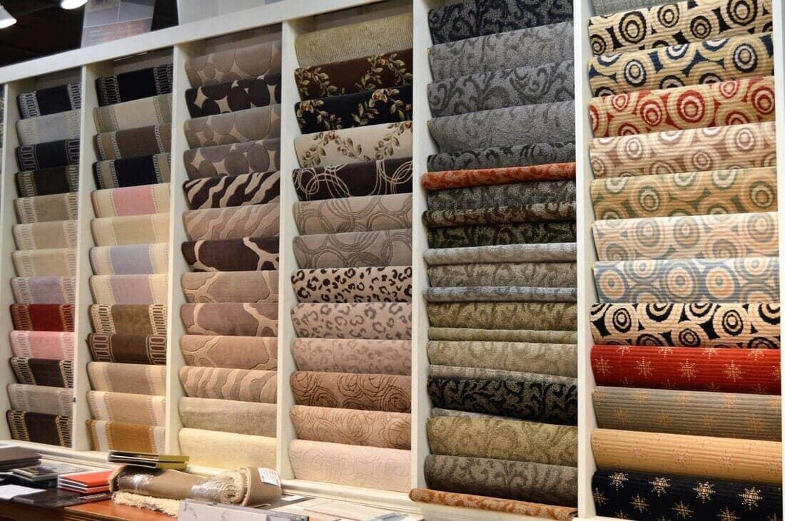 Showroom image, carpet