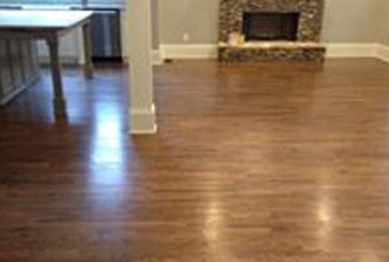 Hardwood flooring installation from Carpets Unlimited in Athens, GA