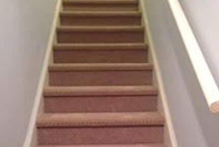 Carpeted Stairs in Lawrenceville, GA from Carpets Unlimited
