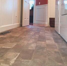 Flooring installation from Artizan Flooring in Plymouth, IN