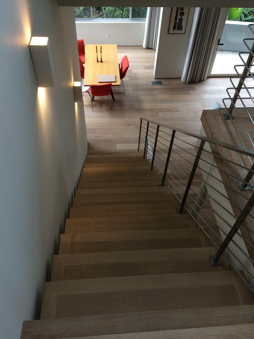 Bergen Hardwood Flooring Our Work - Stairs2