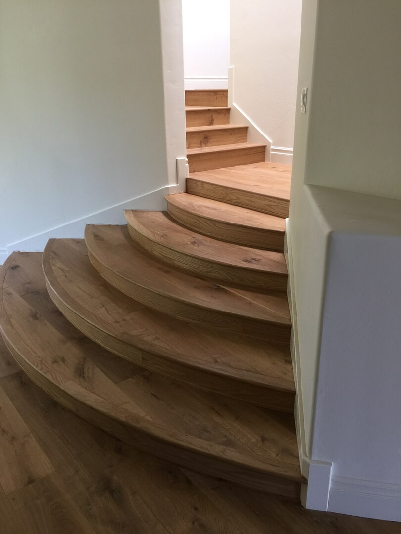 Bergen Hardwood Flooring Our Work - Stairs3