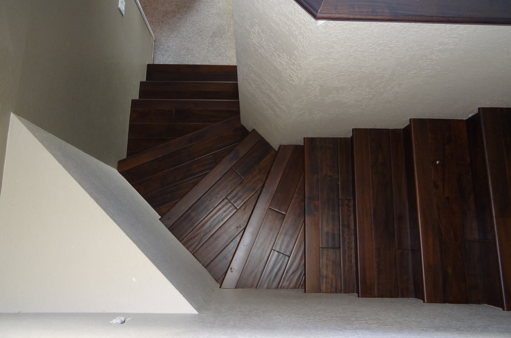 Bergen Hardwood Flooring Our Work - Stairs7