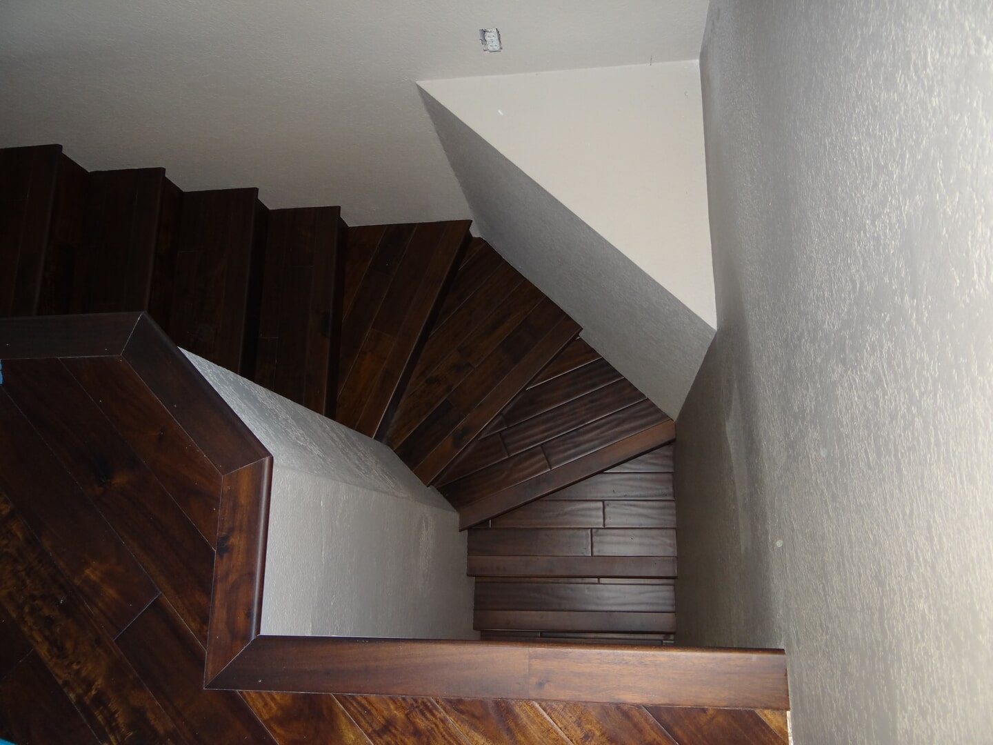 Bergen Hardwood Flooring Our Work - Stairs8