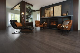 Dark tone hardwood flooring in Mahwah, NJ from G. Fried Flooring & Design