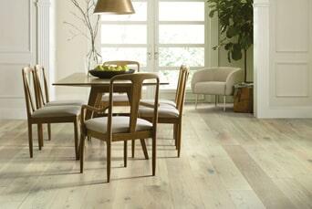 White hardwood flooring in Upper Saddle River, NJ from G. Fried Flooring & Design