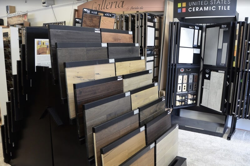 Value Discount Flooring showroom in Antioch, IL