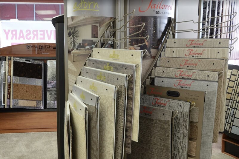 Value Discount Flooring showroom in Burlington, WI