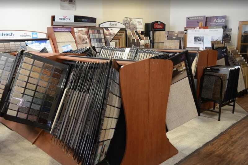 Value Discount Flooring showroom in McHenry, IL