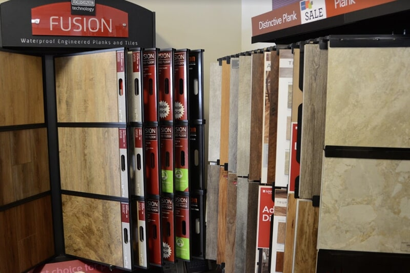 Value Discount Flooring showroom in Twin Lakes, WI