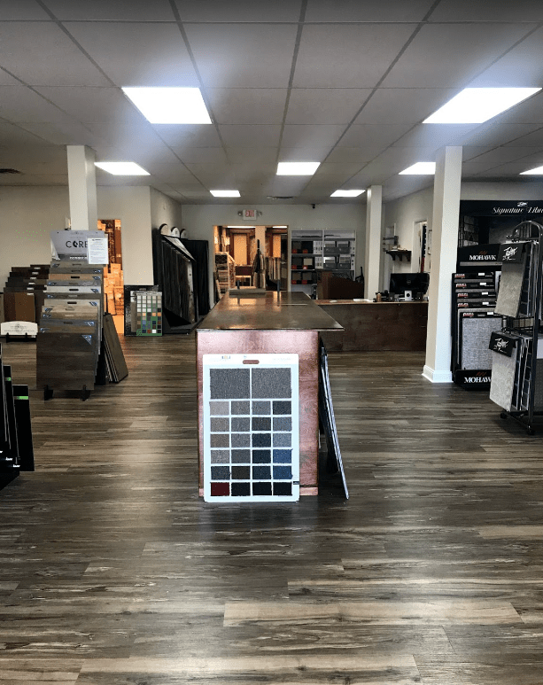 Meet our professional staff here when you walk into Havertown Carpet
