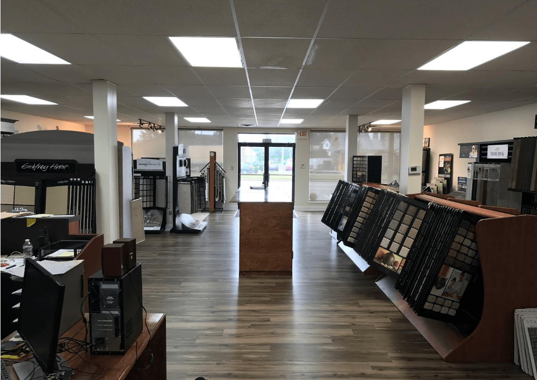 Our large showroom stocked with options for your West Chester, PA renovation