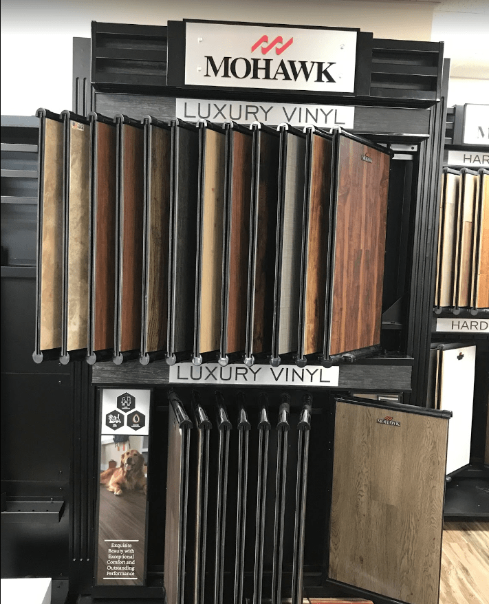Mohawk Luxury Vinyl options for your Newtown Square, PA home from Havertown Carpet Co.