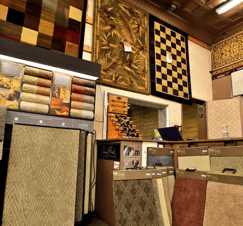 Carpet options and area rugs at Havertown Carpet Co. in Havertown, PA