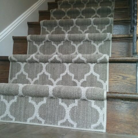 Taza Cliff Edge stair runner in Media, PA from Havertown Carpet