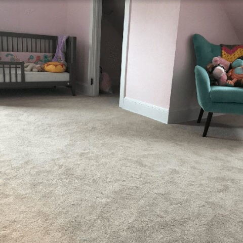 Nursery carpet installation in Newtown Square, PA from Havertown Carpet