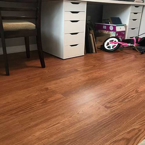 Shiny new hardwood in Havertown, PA from Havertown Carpet