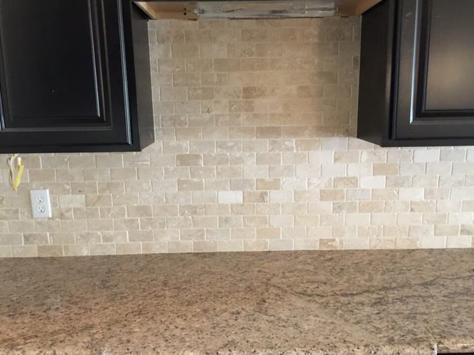 Beautiful backsplash tile in Dayton, TX from Baytown Floors