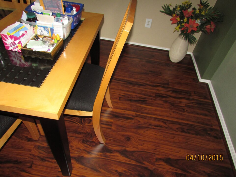 Professionally installed hardwood in Houston, TX from Baytown Floors