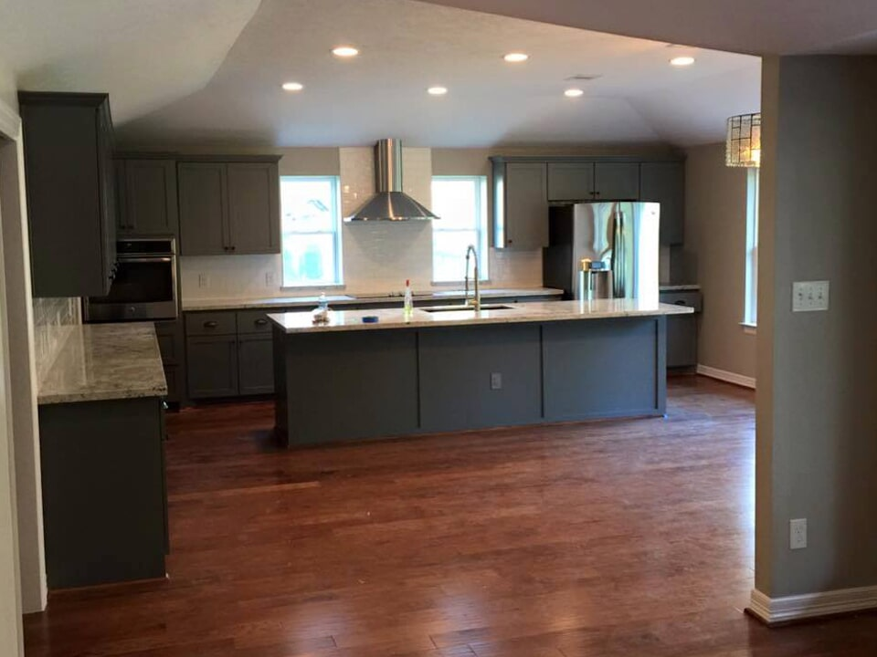 Beautiful kitchen renovation in Dayton, TX from Baytown Floors
