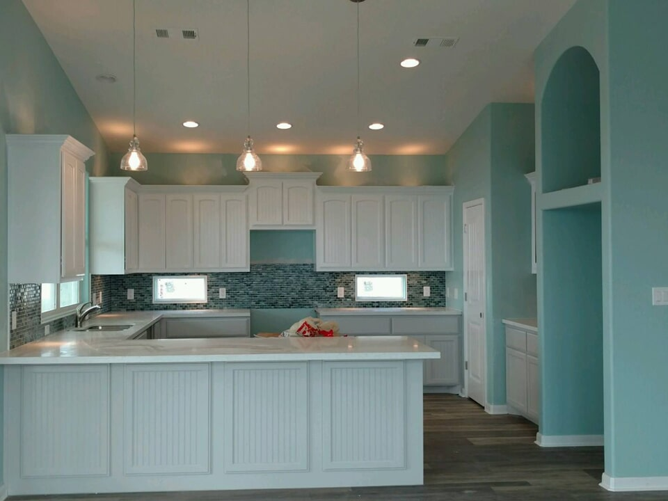Modern kitchen redesign in Pasadena, TX from Baytown Floors