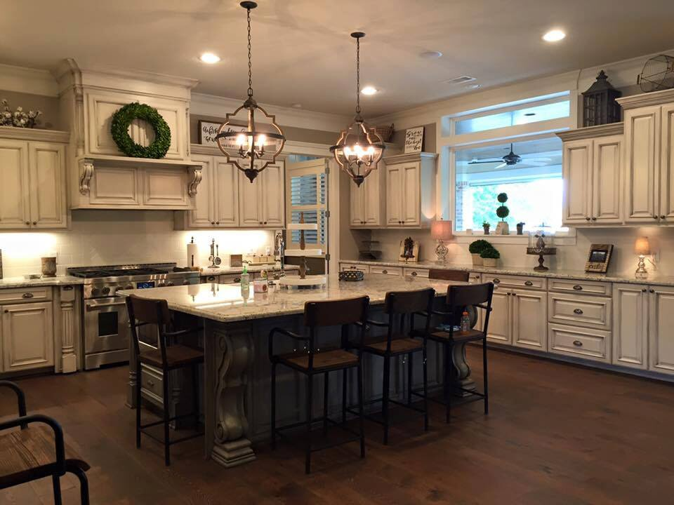 Dream kitchen renovation in Galveston, TX from Baytown Floors
