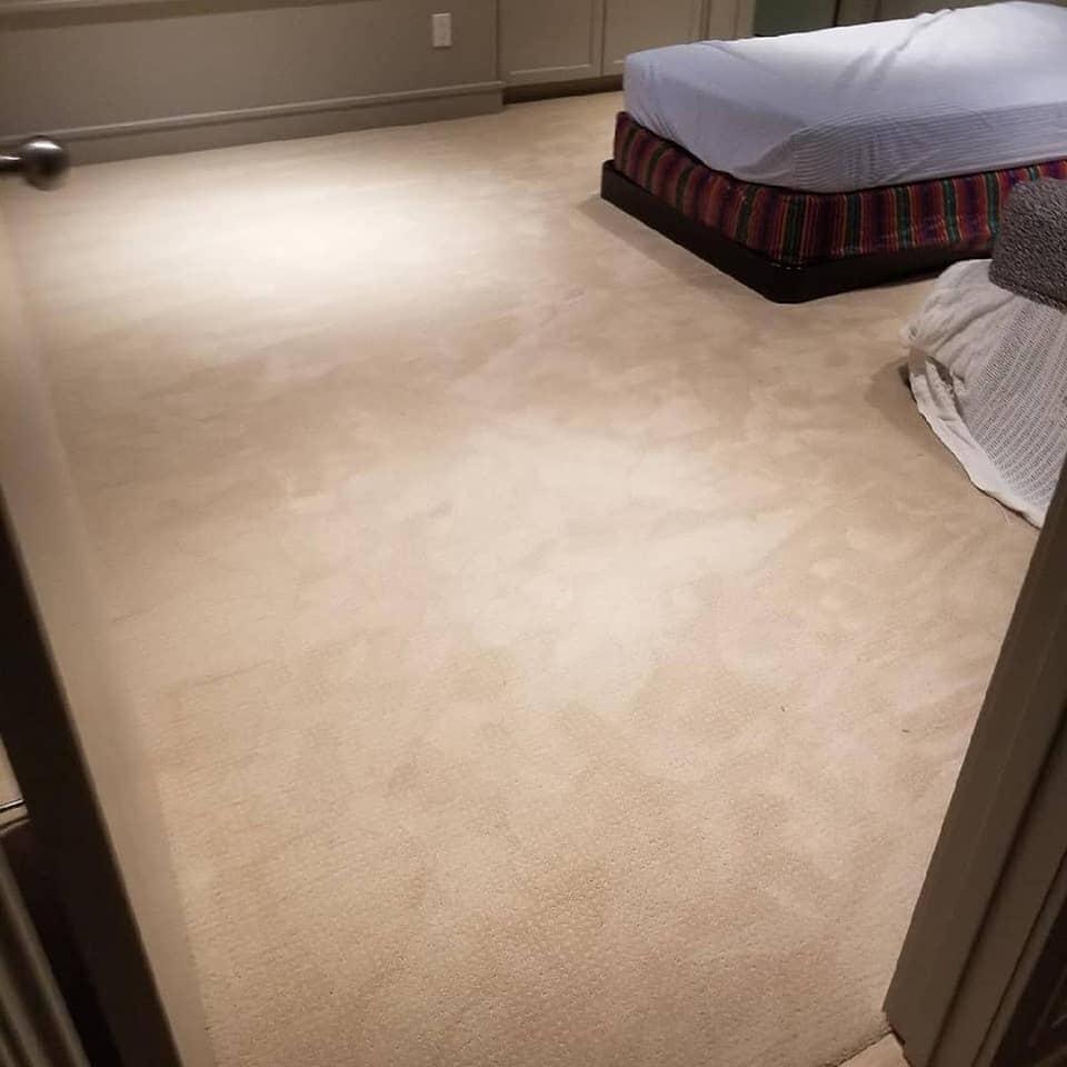 Carpet installation in Sugar Land, TX from Petra Flooring & Blinds