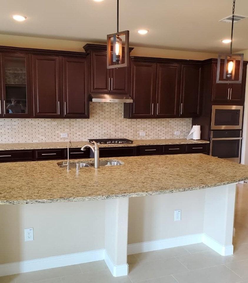 Granite countertops in Cypress, TX from Petra Flooring & Blinds