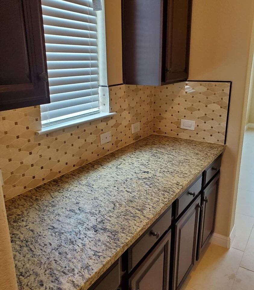 Granite countertop in Spring, TX from Petra Flooring & Blinds