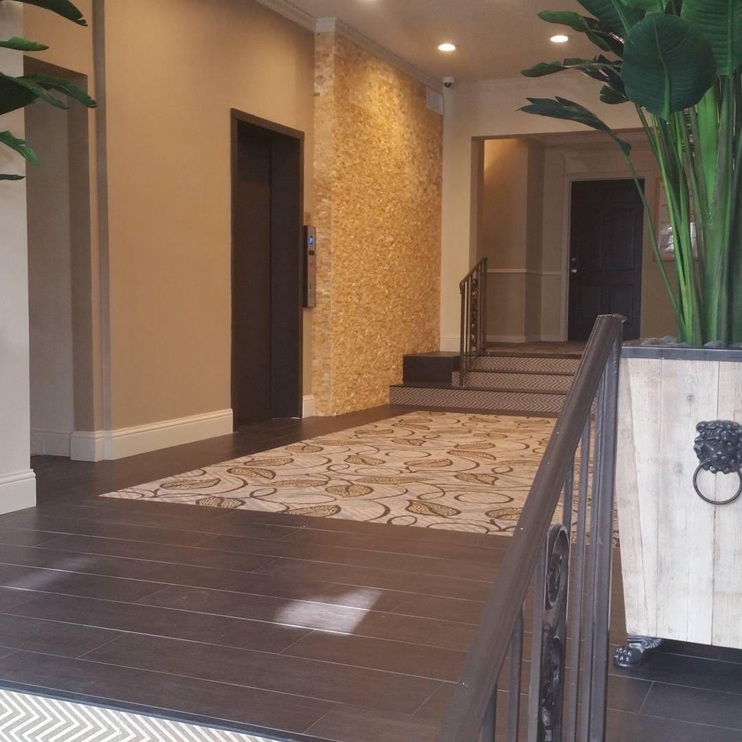 Apartment flooring installation in Sugar Land, TX from Petra Flooring & Blinds
