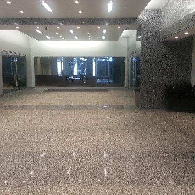 Commercial granite flooring in Houston, TX from Petra Flooring & Blinds