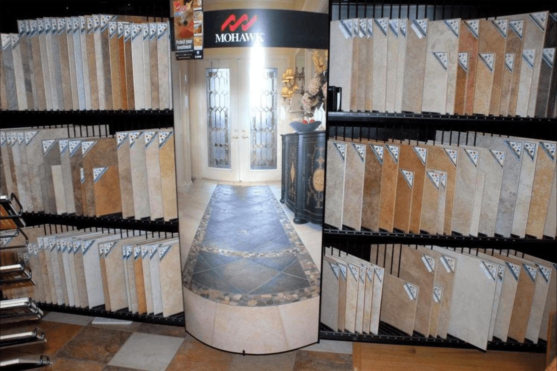 Mohawk tile options in Fort Myers, FL from Britt's Carpet Outlet