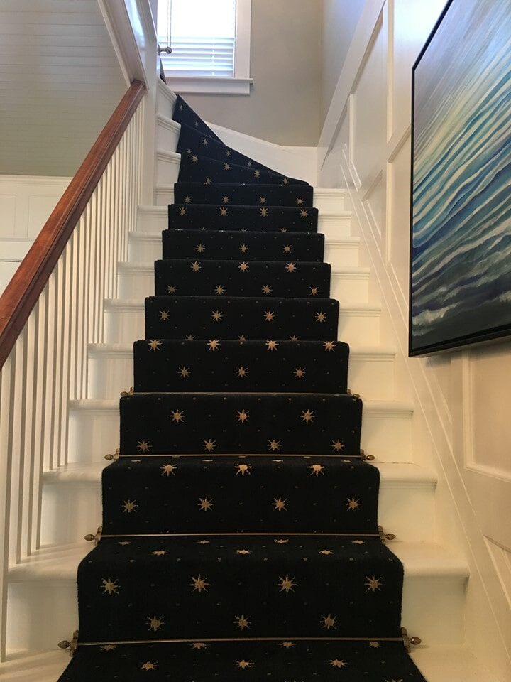 Stair runner in Suttons Bay, MI from Carpet Galleria