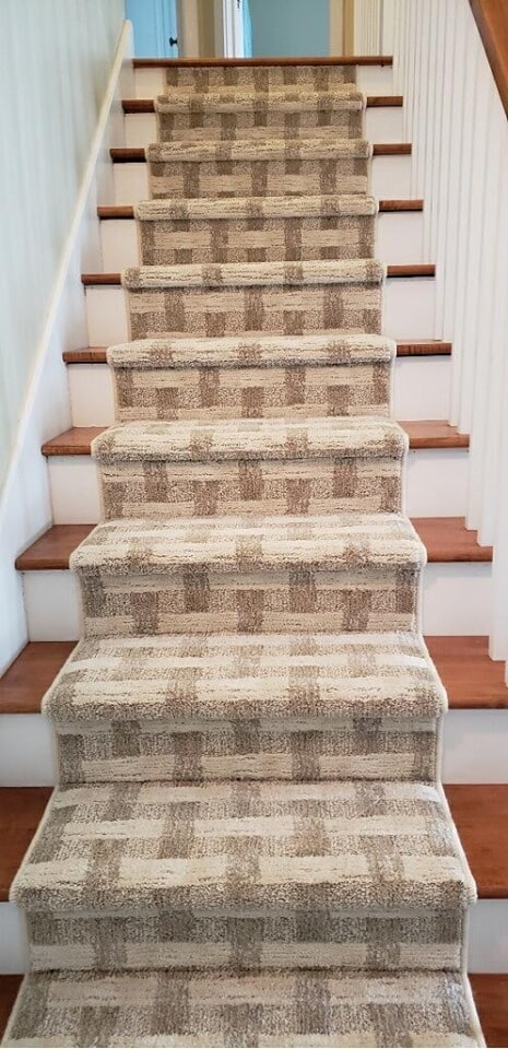 Stair runner in Leland, MI from Carpet Galleria
