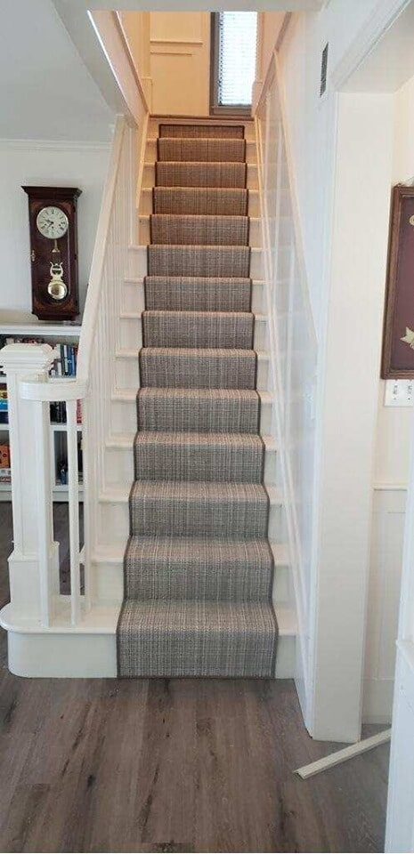 Carpet stairs in Glen Arbor, MI from Carpet Galleria