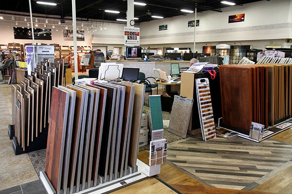 Showroom photo in Orland Park, IL from Sherlock's Carpet & Tile1