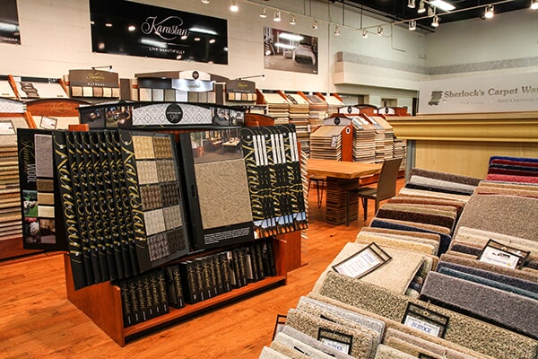 Showroom photo in Orland Park, IL from Sherlock's Carpet & Tile2
